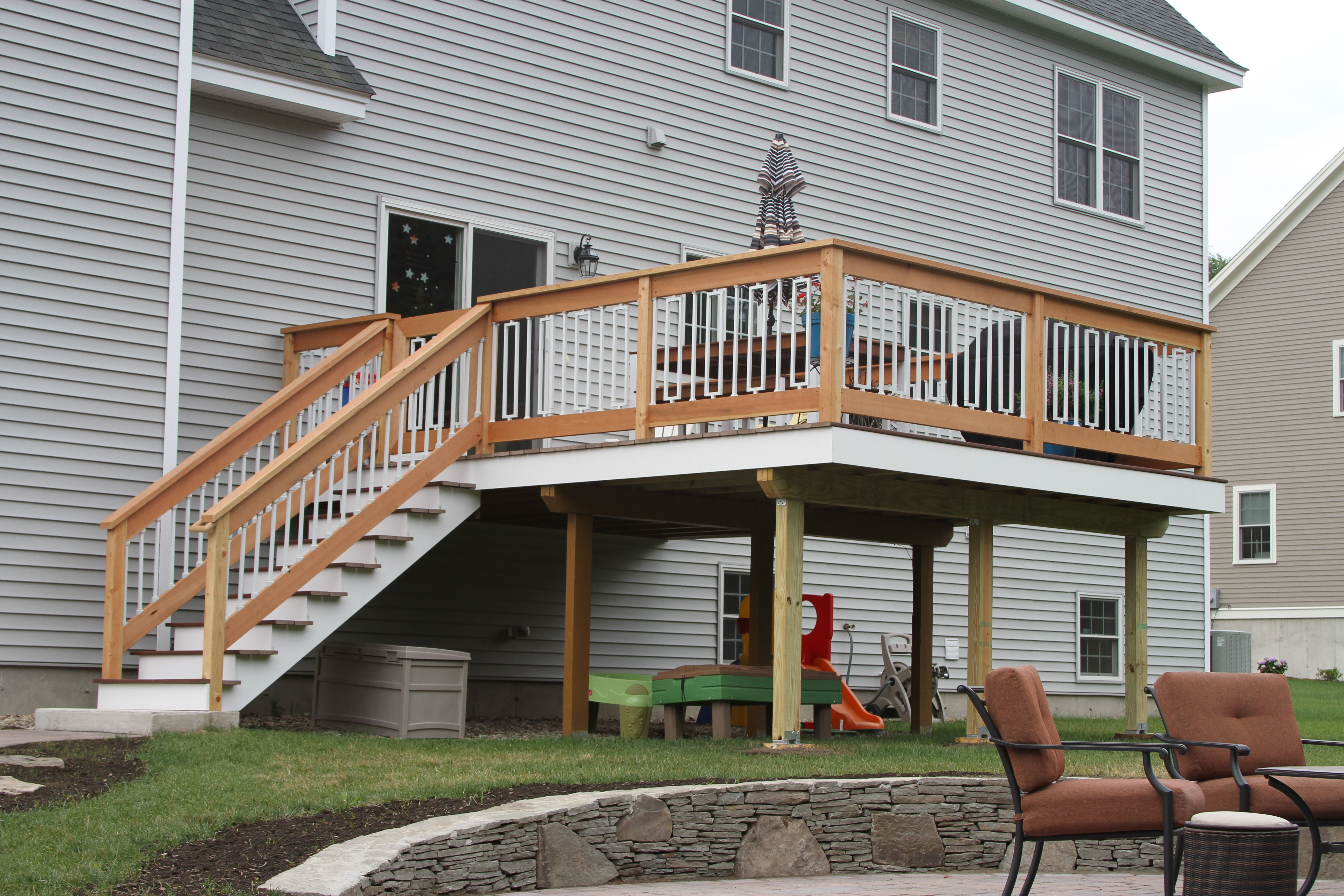 Expand your backyard entertainment area with a new deck!