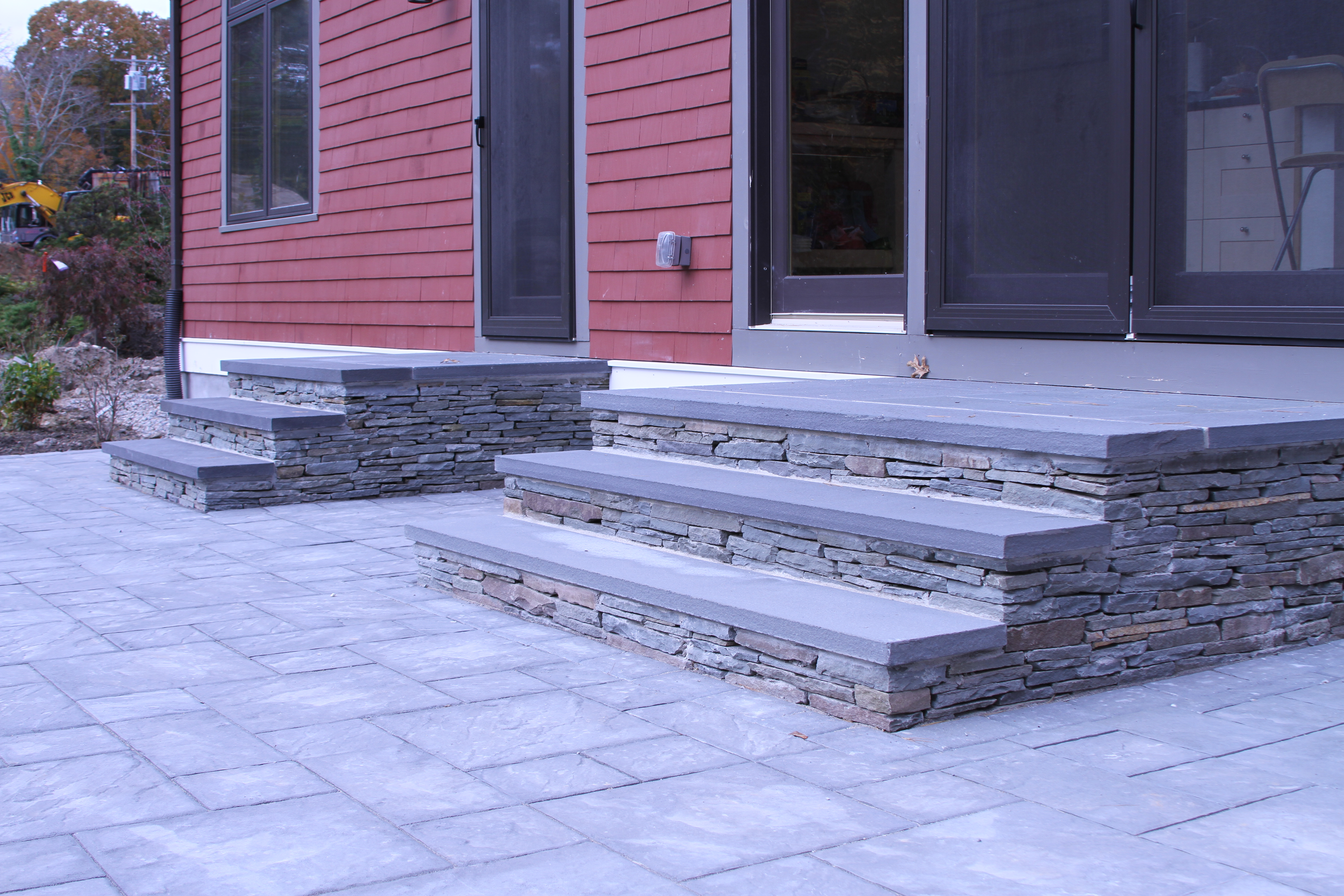 Enhance your landscape with our professional masonry services.