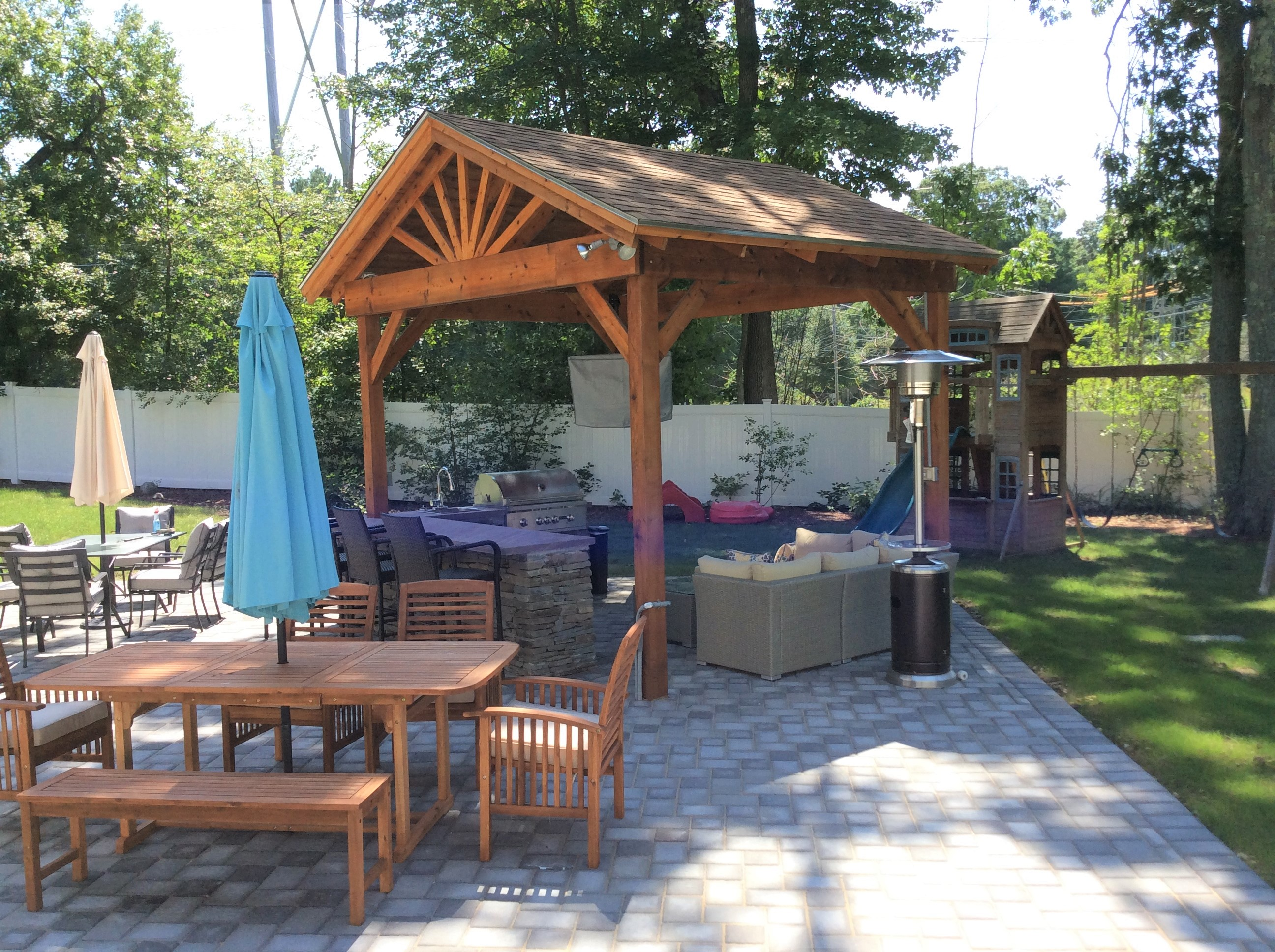 Create the perfect spot to relax and entertain with an outdoor living space.